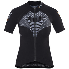 X-Bionic Twyce Koszulka kolarska, krótki rękaw Kobiety czarny
